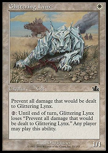 Magic the Gathering - Glittering Lynx - Lince Scintillante - Prophecy -