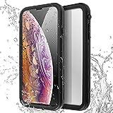AICase Coque Étanche iPhone XS Max,[Certifiée IP68] 360°Protection Waterproof...