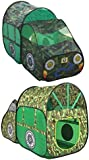 Army Truck Camouflage Pop-Up Tent Indoor & Outdoor Childrens Playhouse