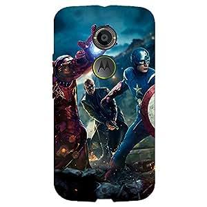 Jugaaduu Superheroes Ironman Back Cover Case For Moto X (2nd Gen)