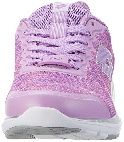 Lotto Sport Ariane Vi Prt Amf W, Sneakers Basses Femme Violet (Vio Cmf/slv Mt)