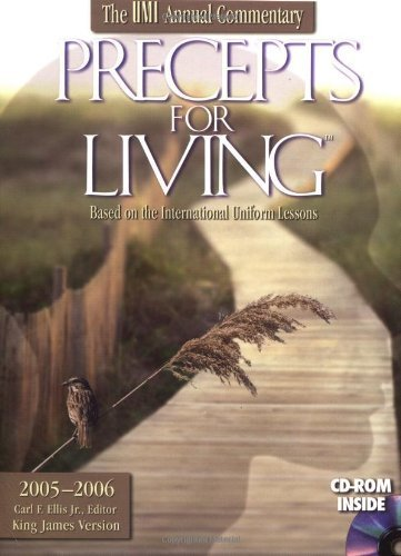 precepts-for-living-the-annual-sunday-school-lesson-commentary-2005-2006-by-carl-ellis-jr-2005-07-15