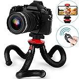 Handy Stativ, GooFoto Flexibel Stativ für Smartphone mit Fernbedienung, Wasserdicht Tripod, Kamera Stativ, Mini stativ für iPhone, Samsung, Huawei, Xiaomi, Android, DSLR, Canon, Nikon, Sony -