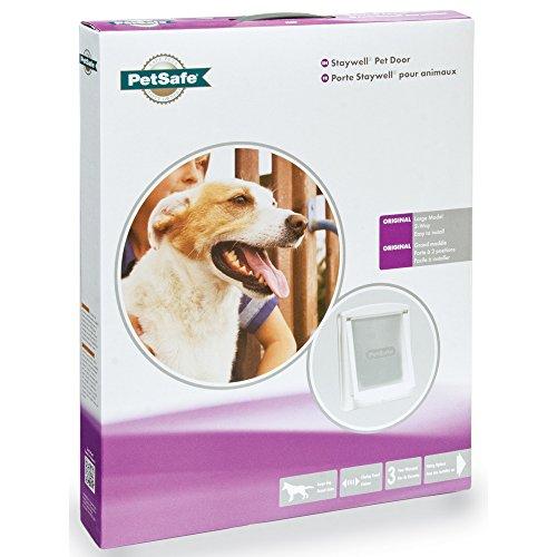 PetSafe Staywell Original Zwei-Wege-Hundeklappe (Medium) (Weiß)