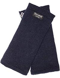 EEM Strick Wollstulpe Pulswärmer MAYA mit Thinsulate Thermofutter, 100% Wolle oder 100% Baumwolle je nach Farbe, sportlich, modisch, warm
