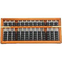 Portátil 13Columna Abacus Herramienta de Aprendizaje Aritmética Soroban Herramienta de Cálculo de madera