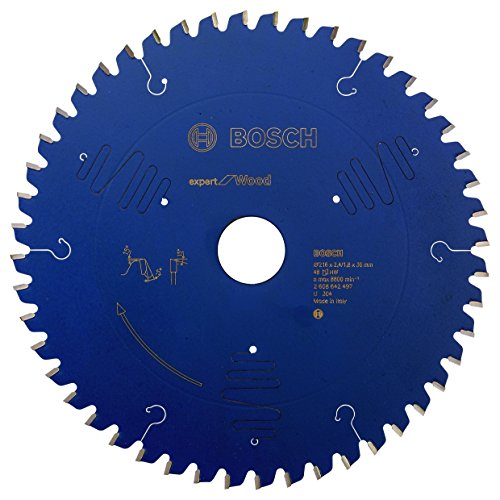 Bosch Professional 2608642497 Kreissägeblatt Expert for Wood 216 x 30 x 2.4 mm Z48T