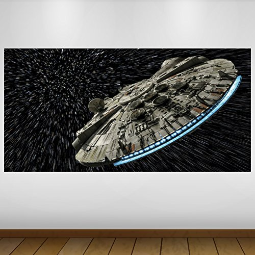 LagunaProject EXTRA GROßE Raum Star Wars Millenium Falcon -