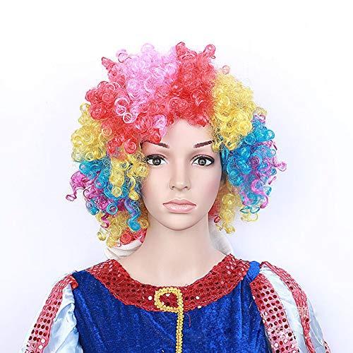 Jasnyfall Halloween Kopfschmuck Halloween Maske Unisex Cosplay Clown -