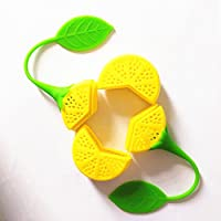 Macxy - 2pcs / Lot Teesieb Silikon Erdbeere Zitronen-Entwurf Lose Teeblatt-Sieb-Beutel Kräutergewürzfilter Filter-Tools... preisvergleich bei billige-tabletten.eu