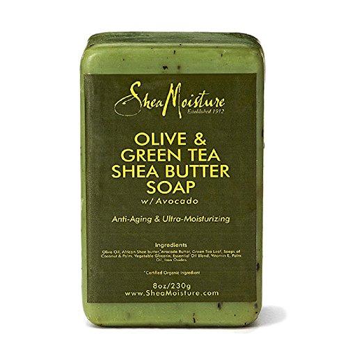 Shea Moisture Organic Olive & Green Tea Shea Butter Soap by Shea Moisture