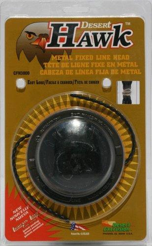 Desert Metall (Desert Hawk Kopf, Metall Feste Line Kopf passend für die meisten Benzin Rasentrimmer/Trimmer/Freischneider)