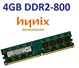 HYNIX original 4 GB 240 pin DIMM DDR2-800 (PC2-6400) 256Mx8x16 double side (HMP351U6AFR8C-S6)