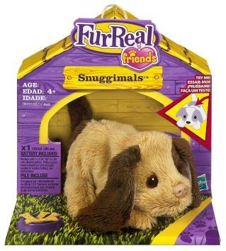 Imagen principal de Fur Real Friends Snuggimals Snog a Roo- Perro de peluche, color cobre y marrón (Hasbro)