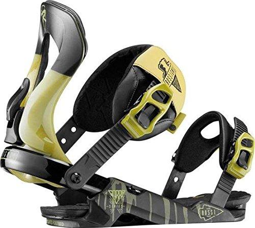 Rossignol-Fijación De tabla De Snowboard diseño De Cobra V2 M/l, para hombre, diseño De hombre, talla m_l, color amarillo