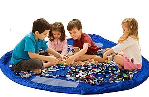eggo-best-kids-toy-storage-bag-play-mat-durable-organizer-opens-to-60-inch-circular-play-area-great-
