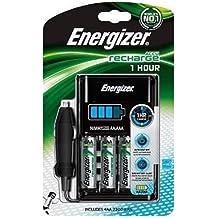 Energizer 635041 - Cargador de pilas AA + AAA 1h