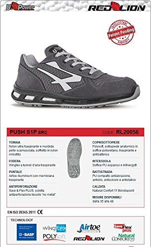 con standard di sicurezza S1P SRC modello Active 42/ U-Power rl20066/Scarpe redlion