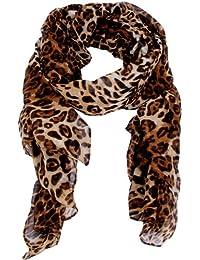 Calonice Amorino Foulard à imprimé pour femme 100% Polyester (L) 185x95 cm (LxH) 4000