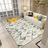 carpet Waschbar Waschbar Haltbar Teppich Super-Qualität Soft Lounge Modern Schlafzimmer Shop Couchtisch Schlafsofa Home Wohnzimmer Slip Nicht Reizende Teppich Home Daily, 120 * 160 cm