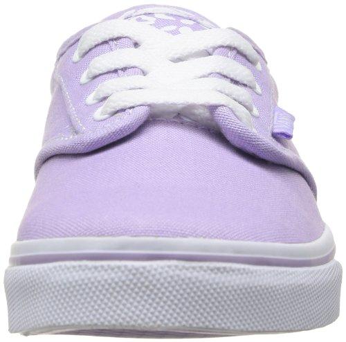 Vans - Z Atwood Low (Cheetah), Sneaker Bambina Viola (Purple - Violett - Violet (Paste))