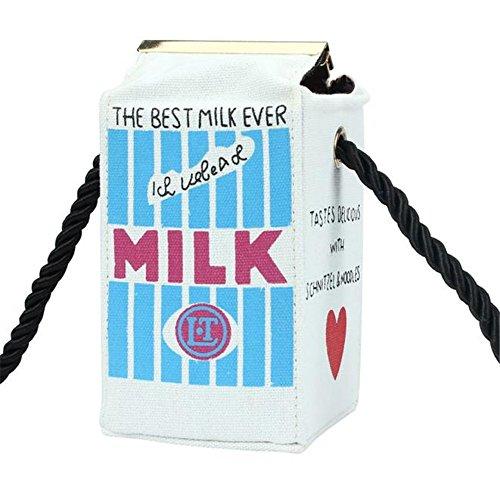 Longra Donna Borsa latte Beige