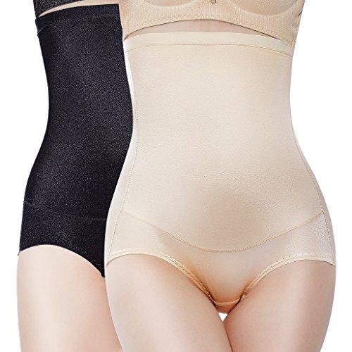 Anzermix Damen Miederslip Mehrfarbig black, beige Gr. Small, black, beige (Extra Panty Thong Rise Low)