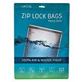 Noaks Bag XL | 5 exemplaires | Sac Étanche – Dry Bag – Poche Imperméable | 100% Imperméable à 10 m - Étanche à l'Air - Étanche aux Odeurs | Très grande taille