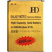 Donkeyphone - BATERIA INTERNA GOLD PARA SAMSUNG GALAXY NOTE 2 GT-N7100 / N7105 DE RECAMBIO / REPUESTO DE LITIO CON ALTA CAPACIDAD 4500 MAH