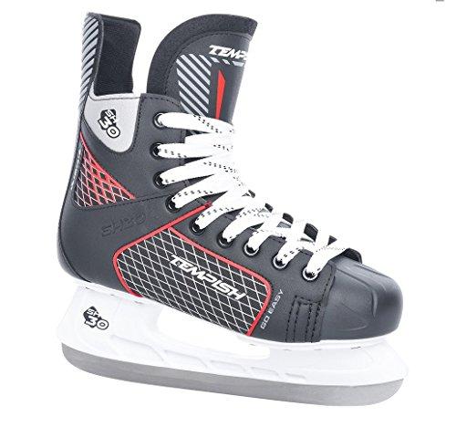 Unbekannt Tempish Erwachsene Ultimate SH 30 Herren-/Kinder-Schlittschuhe; Eishockeyschuhe, Black, 46