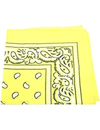 Men's/women's Head con cabeza lastrada y bufandas Bandana para el cuello de cachemir 100% algodón