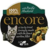 Encore Cat Food Pot Sardine with Pacific Mackerel, 60g, Pack of 10