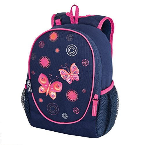 Herlitz 11437670 Kindergartenrucksack rookie, butterfly