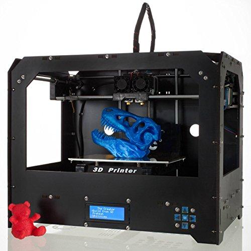 Impresora 3D de escritorio CTC Bizer Pro Duplex Extrusora, actualizada