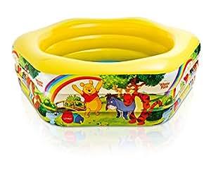 Disney Deluxe Pool Winnie The Pooh 191cm x 178cm x 61cm 57494NP