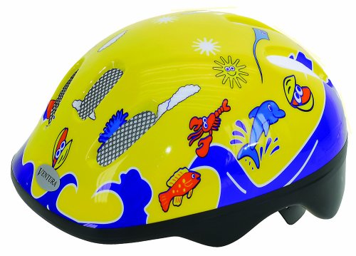 ventura-sea-world-casque-junior-s-52-56-cm-jaune