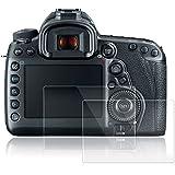 Films de Protection d'Ecran pour Canon EOS 5D MK IV Mark 4, AFUNTA Lot de 2 Protecteurs Imperméables en Verre Trempé Optique pour Caméra Digital DSLR