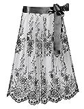 Stockerpoint Damen Dirndlschürze Schürze SC - 230, Gr. 2 (Herstellergröße: 2 - 40-44), Schwarz
