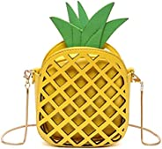 Pineapple Shaped PU Chain cross body Bag messenger bag AB250