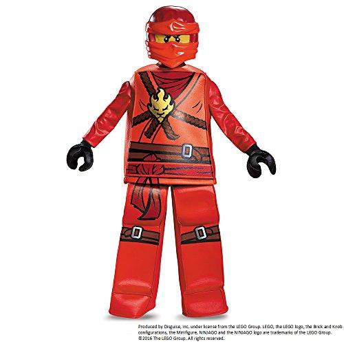 Ninjago Kai Kleid bis Prestige Kostüm (groß, 10–12Jahre)