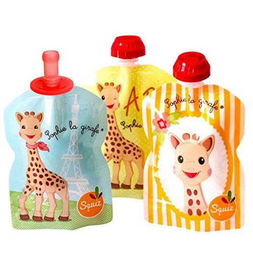 squiz-3-gourdes-reutilisables-sophie-la-girafe-90ml-1-embout-bebe-squiztop-fabrication-suisse