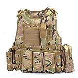 YAKEDA Hinchas del ejército chaleco táctico Swat Cs campo táctico del ejército del chaleco del...