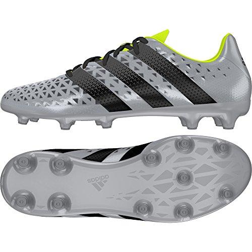 adidas Herren Ace 16.3 FG Fußballschuhe, Grigio (Plata (Plamet/Negbas / Amasol)), 40 EU
