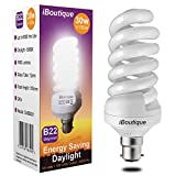 iBoutique® 30W Bayonet (B22) Daylight Energy Saving Light Bulb Equivalent Output 150 Watts (Full Spectrum) Great For SAD Sufferers, Snooker, Pool, Hobbies, Crafts, Photography