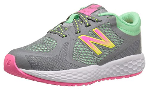 New Balance Unisex-Kinder Kj720bly M Sneakers Multicolor (Grey/Pink)