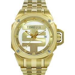 TechnoSport Damen Chrono Uhr - GOLDEN TOUCH gold