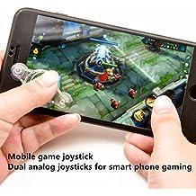 Vancool 4 Pack Mobile Game Joystick Teléfono Juego Rocker Touch Screen Joypad Mango para teléfonos celulares Juegos Tablet Funny Game Controller para IPhone o IPad
