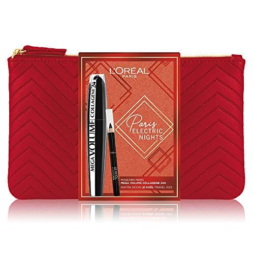 L'Oréal Paris MakeUp Pochette Regalo Set Trucchi, Nero