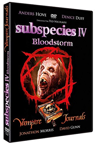 Subspecies 4 Bloodstorm 1998 + Vampire Journals 1997 DVD (Sprache Kein Deutsch) (Kein Deutsch Untertitel) (Englisch Tonspur) (Spanisch Import) (The Vampire Journals)