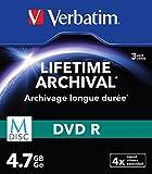 Verbatim 43826  M-DISC DVD-R 4x 3-pack   Optical Media